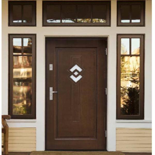 Drzwi zew. drewniane AGMAR KONGO