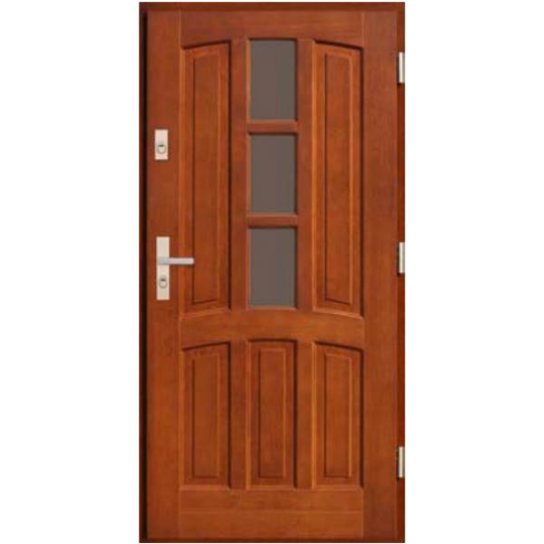 Drzwi zew. drewniane AGMAR CEDRUS