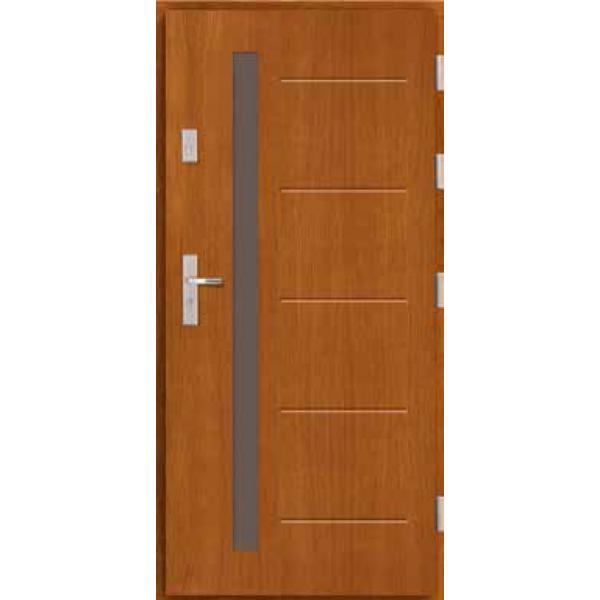 Drzwi zew. drewniane AGMAR AFRA