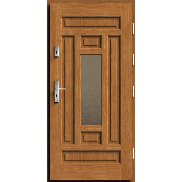 Drzwi zew. drewniane AGMAR DEMI