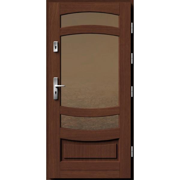 Drzwi zew. drewniane AGMAR FALCO