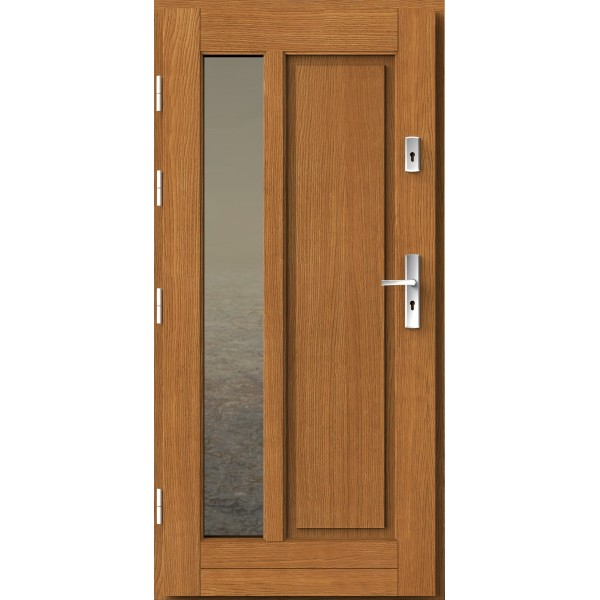 Drzwi zew. drewniane AGMAR HAKO