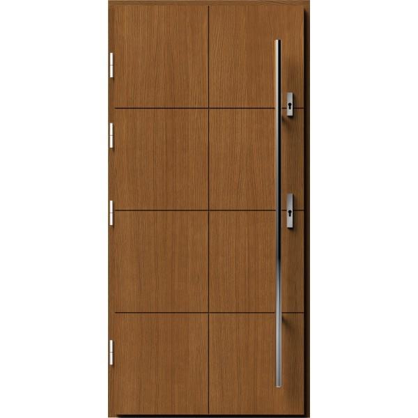 Drzwi zew. drewniane AGMAR HAKURO