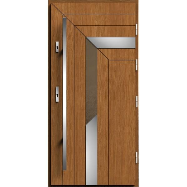 Drzwi zew. drewniane AGMAR ITRA