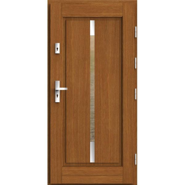 Drzwi zew. drewniane AGMAR LIGER