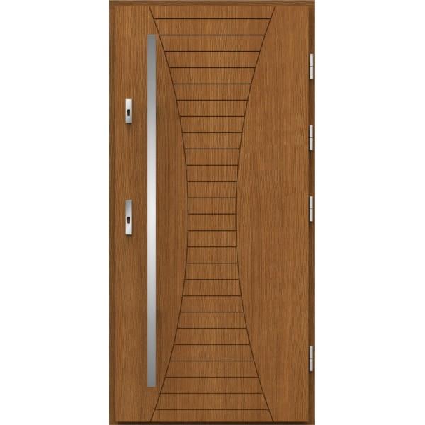 Drzwi zew. drewniane AGMAR LILA