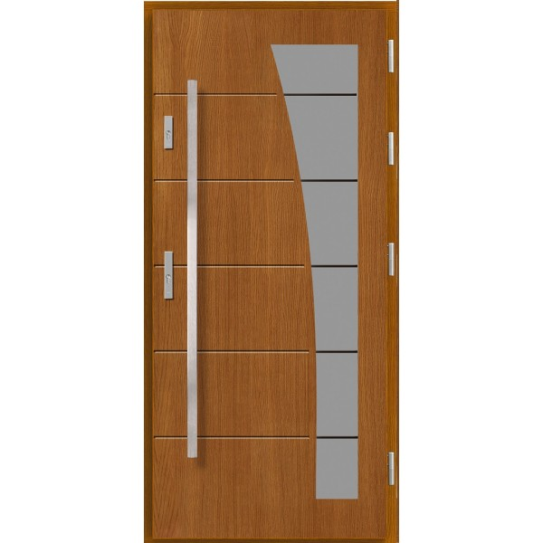 Drzwi zew. drewniane AGMAR AJTRA
