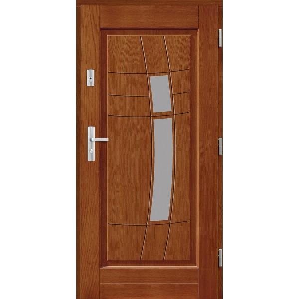 Drzwi zew. drewniane AGMAR DAKINI