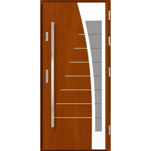 Drzwi zew. drewniane AGMAR DOKA