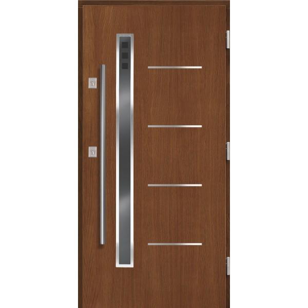 Drzwi zew. drewniane AGMAR DRACO