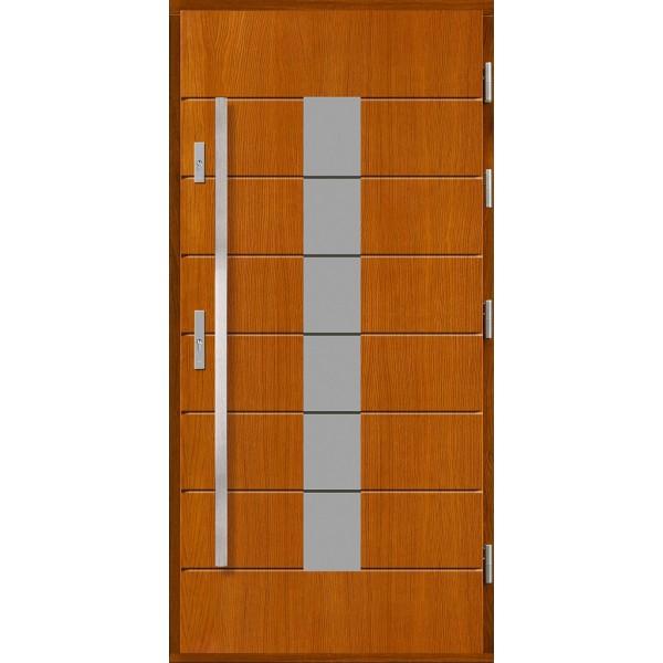 Drzwi zew. drewniane AGMAR DUETA