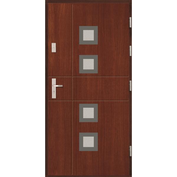 Drzwi zew. drewniane AGMAR GRAN
