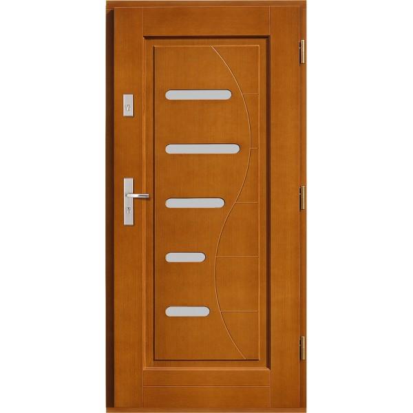Drzwi zew. drewniane AGMAR HARPO