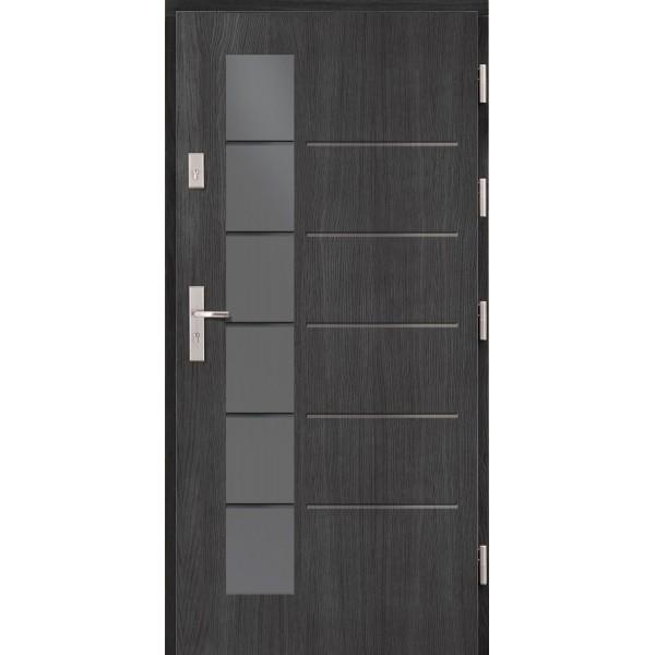 Drzwi zew. drewniane AGMAR IMPACT