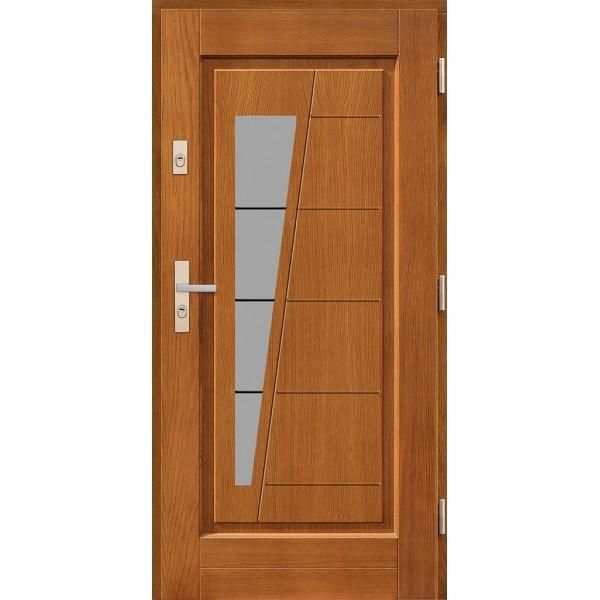 Drzwi zew. drewniane AGMAR JABOR