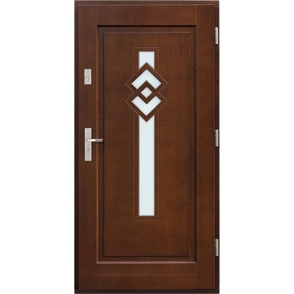 Drzwi zew. drewniane AGMAR KARI