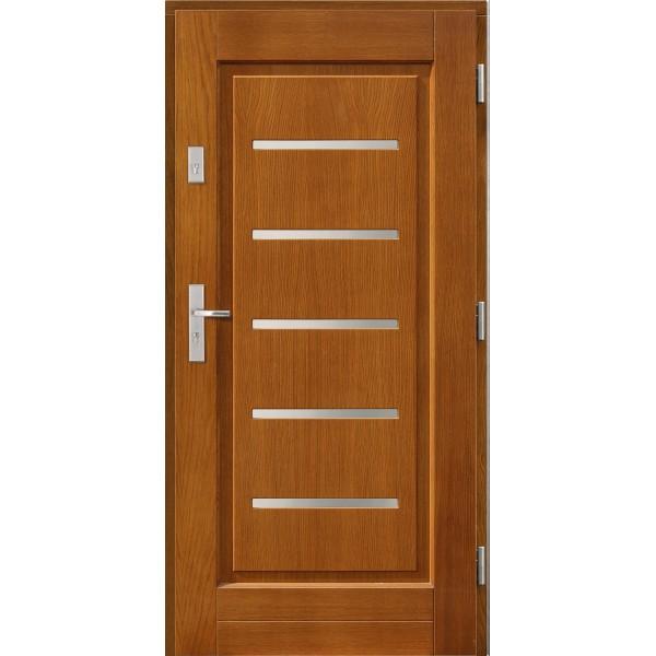 Drzwi zew. drewniane AGMAR KOBUS