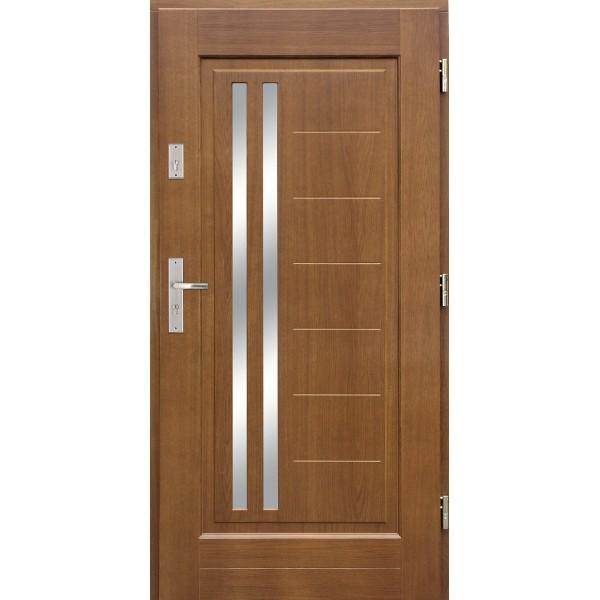 Drzwi zew. drewniane AGMAR LANTRA