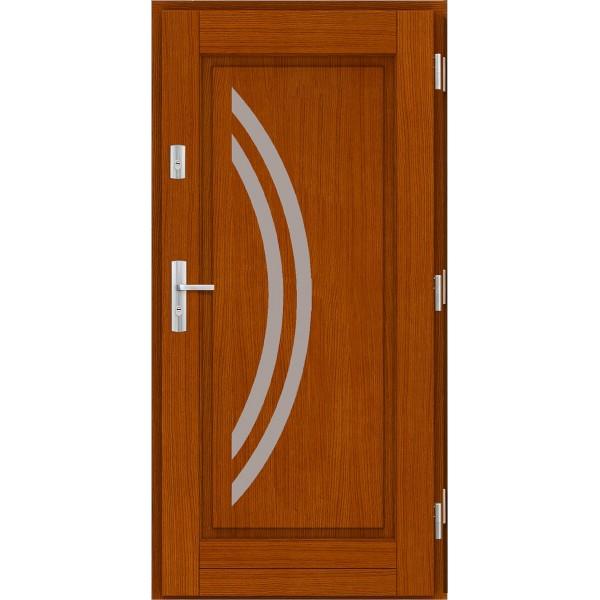 Drzwi zew. drewniane AGMAR LATINA