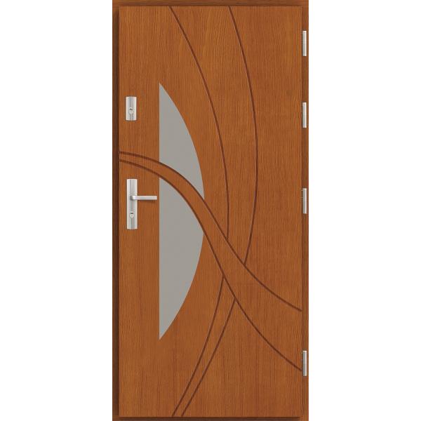 Drzwi zew. drewniane AGMAR LUPO