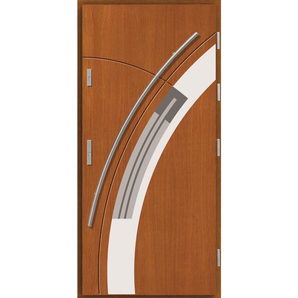 Drzwi zew. drewniane AGMAR MANGALA