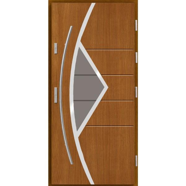 Drzwi zew. drewniane AGMAR MELBU