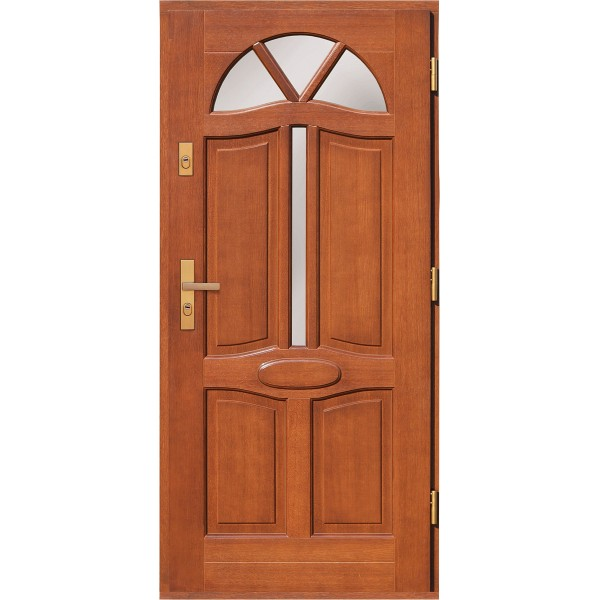 Drzwi zew. drewniane AGMAR RUBUS