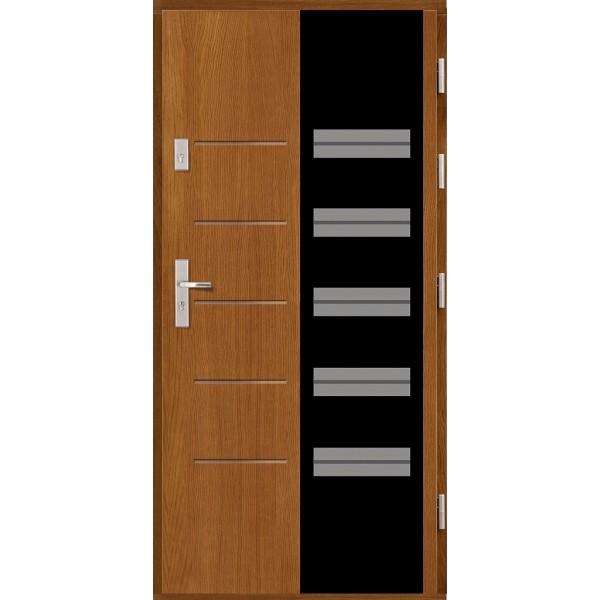 Drzwi zew. drewniane AGMAR RUST