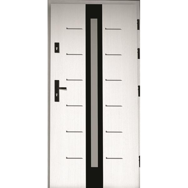 Drzwi zew. drewniane AGMAR VITRUM