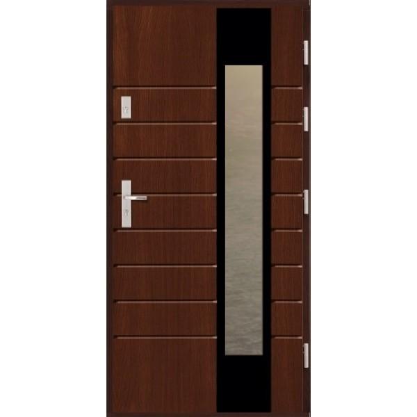 Drzwi zew. drewniane AGMAR NORE