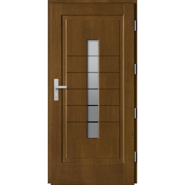 Drzwi zew. drewniane  Barański DB 12