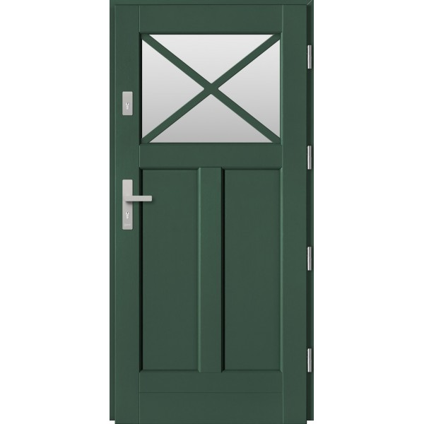 Drzwi zew. drewniane  Barański DB 158