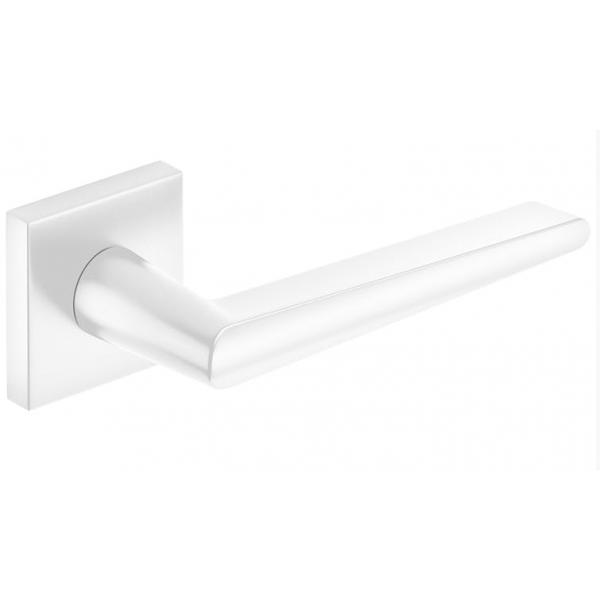 Klamka wew. Corona ARROW Q Biały mat