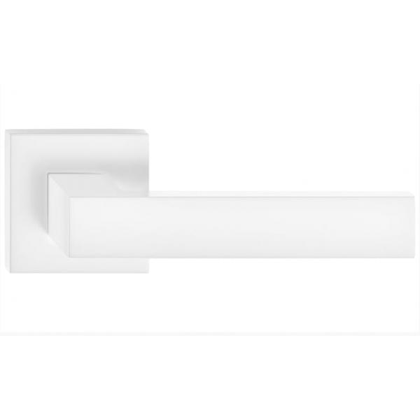 Klamka wew. Corona CUBE Biały mat
