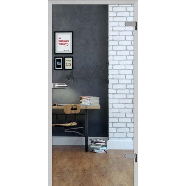 Drzwi wew. szklane DRE GALLA 1 - Przeźroczysta