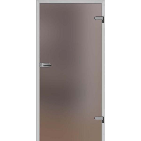 Drzwi wew. szklane DRE GALLA 1 - Brązowe