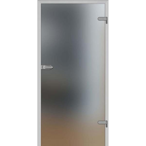 Drzwi wew. szklane DRE GALLA 1 - Mleczne