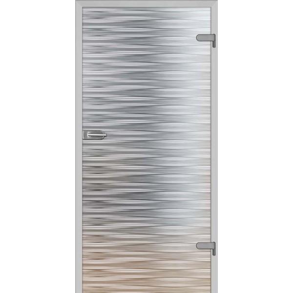 Drzwi wew. szklane DRE GALLA 10 mleczne