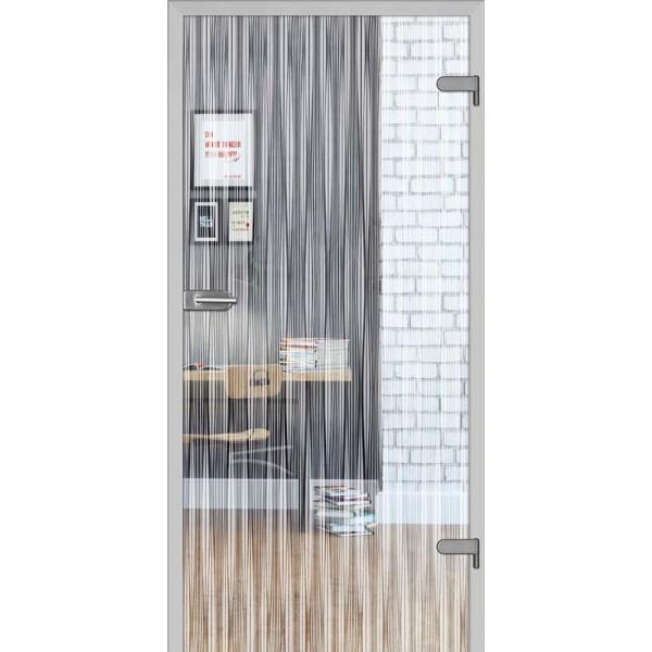 Drzwi wew. szklane DRE GALLA 11 - Przeźroczysta