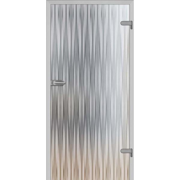 Drzwi wew. szklane DRE GALLA 11 mleczne