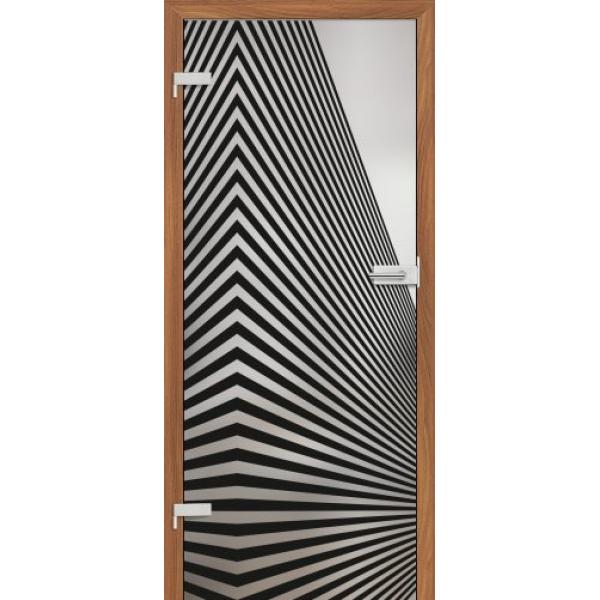 Drzwi wew. szklane Erkado GRAF 1