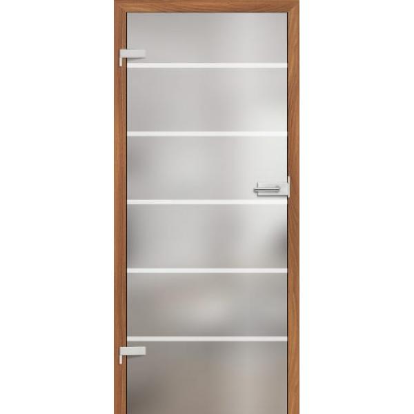 Drzwi wew. szklane Erkado GRAF 17