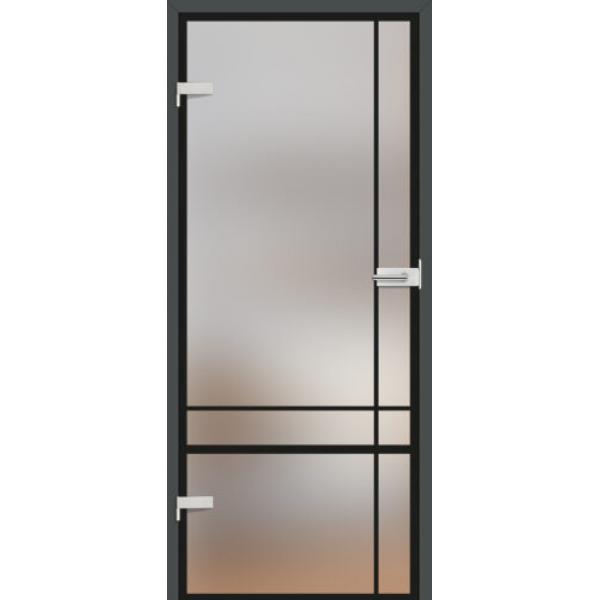Drzwi wew. szklane Erkado GRAF 32