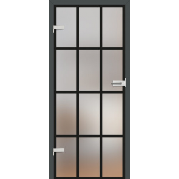 Drzwi wew. szklane Erkado GRAF 35