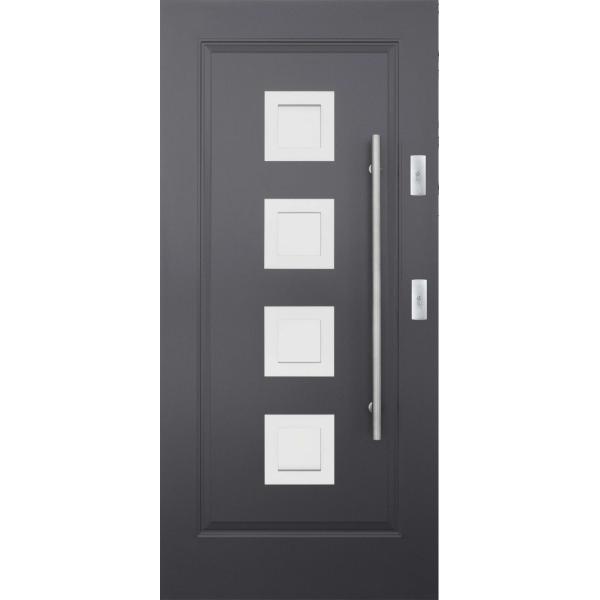 Drzwi zew. stalowe KMT - 10s4 INOX