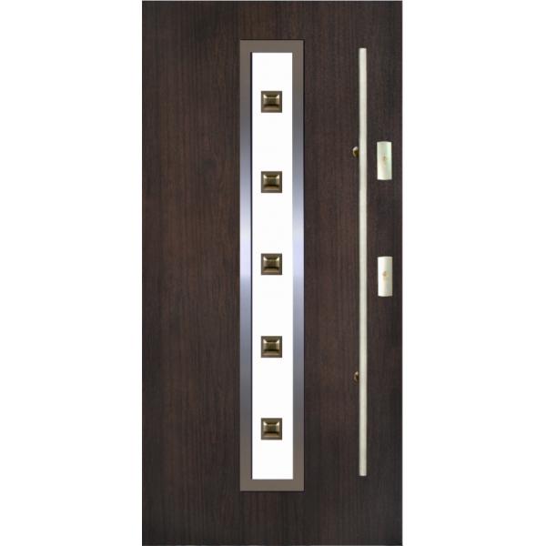 Drzwi zew. stalowe KMT  11s1 INOX