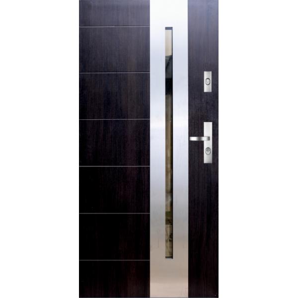 Drzwi zew. stalowe KMT 13s1 INOX