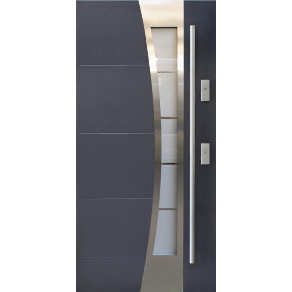 Drzwi zew. stalowe KMT PLUS 54- 13s4 INOX