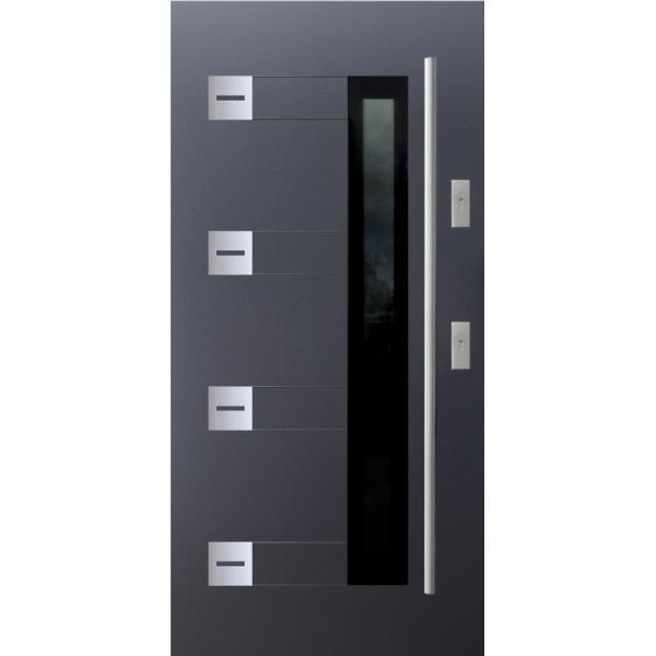 Drzwi zew. stalowe KMT PERFEKT 1