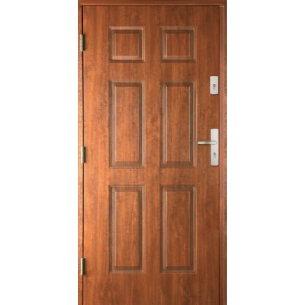 Drzwi zew. stalowe MIKEA Thermika Felc wzór 4